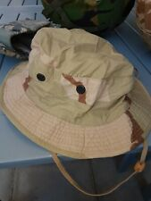 Us Army Military Desert Camo Ripstop Boonie Hat 7.5 usa iraq afghan gulf cap