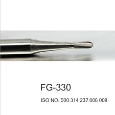 100pcs Dental Tungsten Carbide Burs Fg 330 High Quality