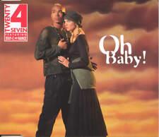TWENTY 4 SEVEN ft STAY-C and NANCE - Oh baby 3TR CDM 1994 EURODANCE