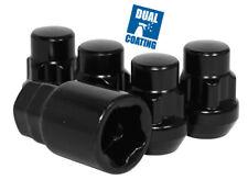 Wheel Lug Nut-Lock Acorn 1/2 Black COYOTE PREMIUM WHEEL ACCESSORIES 741142BLK
