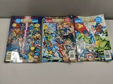 DC Vs. Marvel #1 2 3 Comic Book Complete Set 1-3