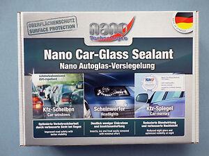 1x Nano Étanchéité Kit Verre Auto Traitement de Protection des Fenêtres Mirroir