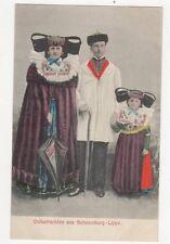 Volkstrachten Aus Schaumburg Lippe Vintage Postcard 245a