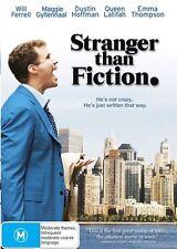 Stranger Than Fiction (2006) Will Ferrell, Emma Thompson - NEW DVD - Region 4