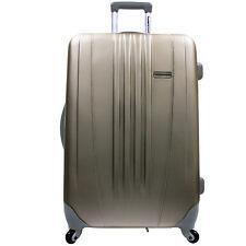 """Traveler Choice Gold Toronto 29"""" Expand Hardside Spinner Luggage Travel Suitcase"""
