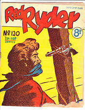 """Red Ryder No 120 1950's -Australian-""""Revolver Tied To Tree Cover ! """""""