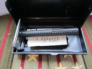 Soviet Razor Safety New Luch Box Antique Shaving Machine Shaving Case Razors