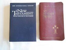 Pocket Size -  My Sunday Missal + NIV New Testament W/Psalms & Proverbs