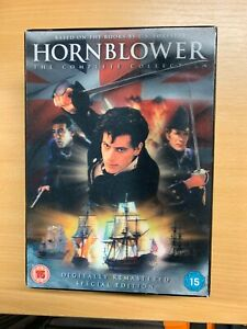 HORNBLOWER THE COMPLETE COLLECTION SPECIAL EDITION 4-DISC DVD 13 HOURS (P3)