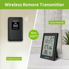 BALDR B0341 Indoor Outdoor Thermometer-Hygrometer Weather Forecast w/ Sensor