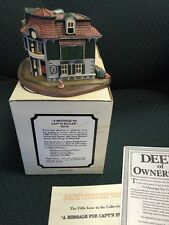 (Gone With Wind) Structure #78175:  MESSAGE FOR CAPT'N  BUTLER  1993 NIB