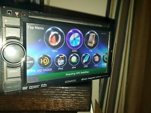 "Kenwood DNX570HD 6.1"" GPS NAV USB CD DVD idatalink maestro compatible"
