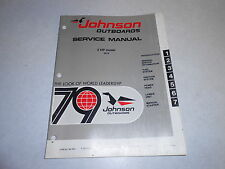 1979 2 hp Johnson Evinrude Outboard Repair & Service Manual 2hp