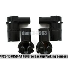 4Pcs New 4F23-15K859-AA Reverse Backup PDC Parking Sensors For Ford F150 F250