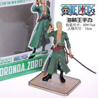 Cool![ONE PIECE] New World Roronoa Zoro Pvc figure Toy New in Box UK