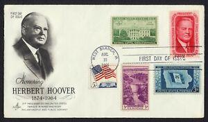 #1269 5c Herbert Hoover-Combo, Art Craft FDC ANY 5=