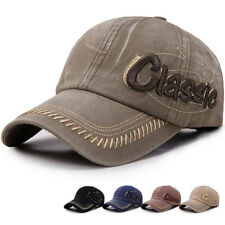 Retro Herren Basecap Mütze Schirmmütze Cappy Caps Kappe Baseball Cap Outddor Cap
