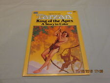 RARE TARZAN KING OF THE APES story to color Edgar Rice Burroughs 1984 1st