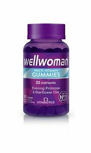 Vitabiotics Wellwoman Multi-Vitamin Gummies 60 Vegan Berry Gummies (9503)
