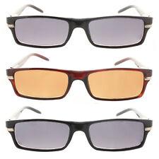 Reading Glasses Tinted Sunglasses Full Frame Readers for Men and Women