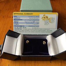14k solid gold (1/2) 0.50ctw genuine diamond studs (SI Clarity)