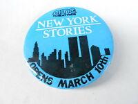 VINTAGE PROMO PINBACK BUTTON #97-056 - AMC THEATRES - NEW YORK STORIES