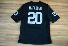 NFL NIKE OAKLAND RAIDERS FOOTBALL DARREN MCFADDEN #20 LIMITED JERSEY MEDIUM RARE