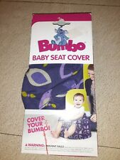 Bumbo Floor Seat Cover Colorful pattern. New in Box.