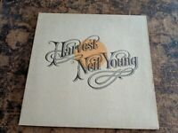 NEIL YOUNG HARVEST COLORED VINYL COMPLETE WITH INSERT LP