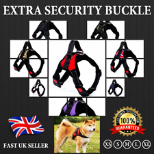 More details for no pull dog pet harness strong adjustable reflective padded safety puppy vest uk