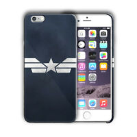 Super Hero Captain America Iphone 5 SE 6 7 8 X XS Max XR 11 12 Pro Plus Case n4