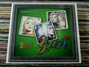 Yuri  3CDs Tesoros de Colección Brand NEW