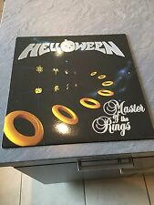 "Halloween Master Of The Rings 1994 Vinyl 12"" Raw Power RAW LP 101 Ex/Ex"