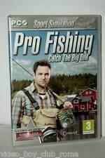 PRO FISHING CATCH THE BIG ONE GIOCO USATO PC CD EDIZIONE ITALIANA PAL RS2 37291