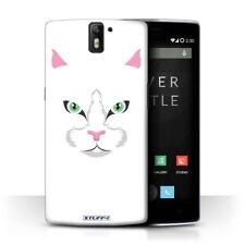 Étuis, housses et coques blanc Pour OnePlus One pour téléphone mobile et assistant personnel (PDA) OnePlus