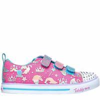 Skechers Sparkle Canvas Low Shoes Girls
