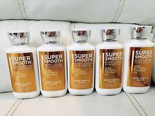 5 Bath Body Works Super Smooth Warm Vanilla Sugar Shea Coconut Oil Lotion