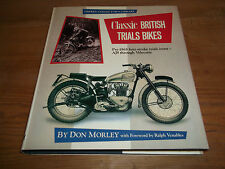 Book. Classic British Trials Bikes. Osprey Collector's Library Motorcycle Racing