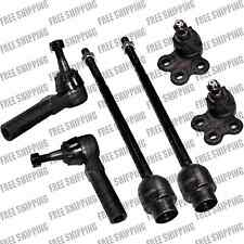 Steering Kit Outer Inner Tie Rod Linkages Lower Ball Joint For Chevrolet Impala