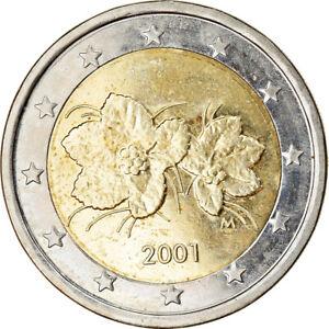 [#765615] Finlande, 2 Euro, 2001, SUP, Bi-Metallic, KM:105
