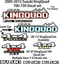 Suzuki KingQuad 700 750 450 Decal emblem graphic OEM sticker kit upgrade axi ax