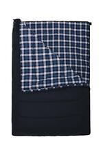 Mountain Warehouse Uni Dbl Check Flannel Sleeping Bag