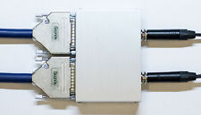 Analog Summing Mixer   D-Sub Serial 16 Inputs   2 Outputs Balanced   Studiograde