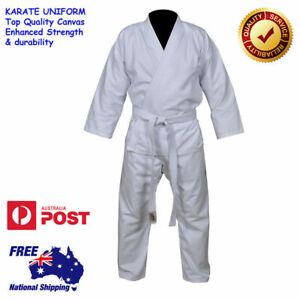 Karate Uniform Martial Arts High Quality Gi BRAND NEW Complete Set-Adult / Kids