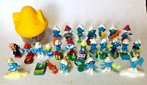 Smurfs Bulk lot - Vintage Kinder Surprise Smurfs &  McDonalds Smurfs