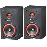"One Pair Cerwin Vega SL-5M Bookshelf Speakers 5 1/4"" 2-Way Set Theater New LOUD"