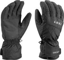 NEW $80 Leki Womens Alpe Insulated Goretex Waterproof Ski Gloves Black Ladies