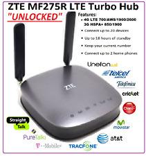 4G LTE Wireless cellular router ZTE MF275 / MF279 UNLOCKED