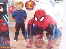 Spiderman Airwalker Buddy Balloon NEW Party Decoration 3'