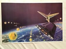 Earth Enslaved 1977 Poster Science Fiction Outer Space Spaceship Star Wars